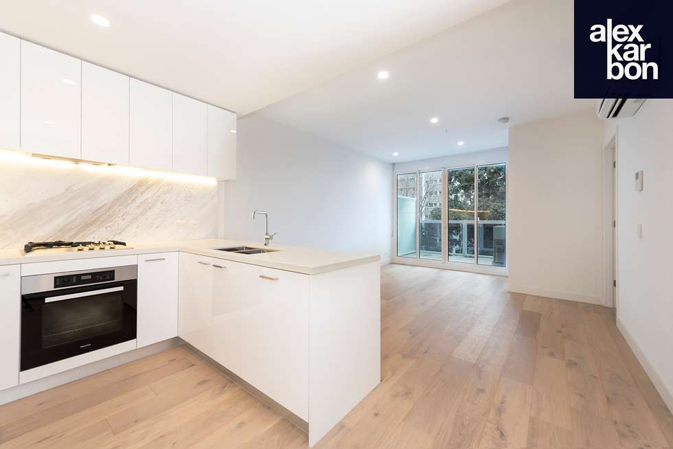 Second view of Homely apartment listing, 206/111 Canning Street, North Melbourne VIC 3051