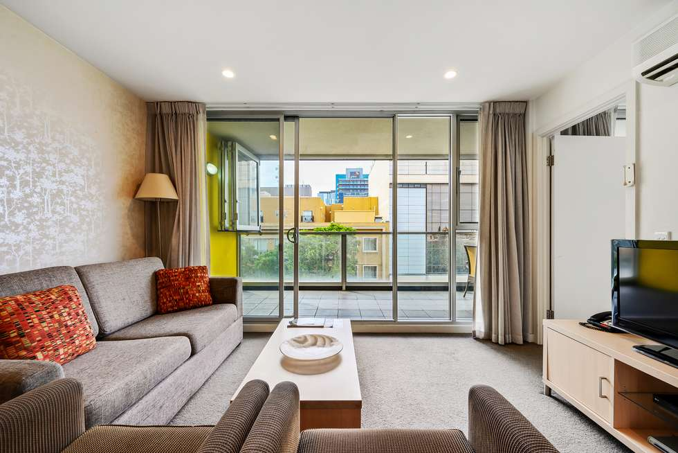 Second view of Homely apartment listing, 418/185 Morphett Street, Adelaide SA 5000
