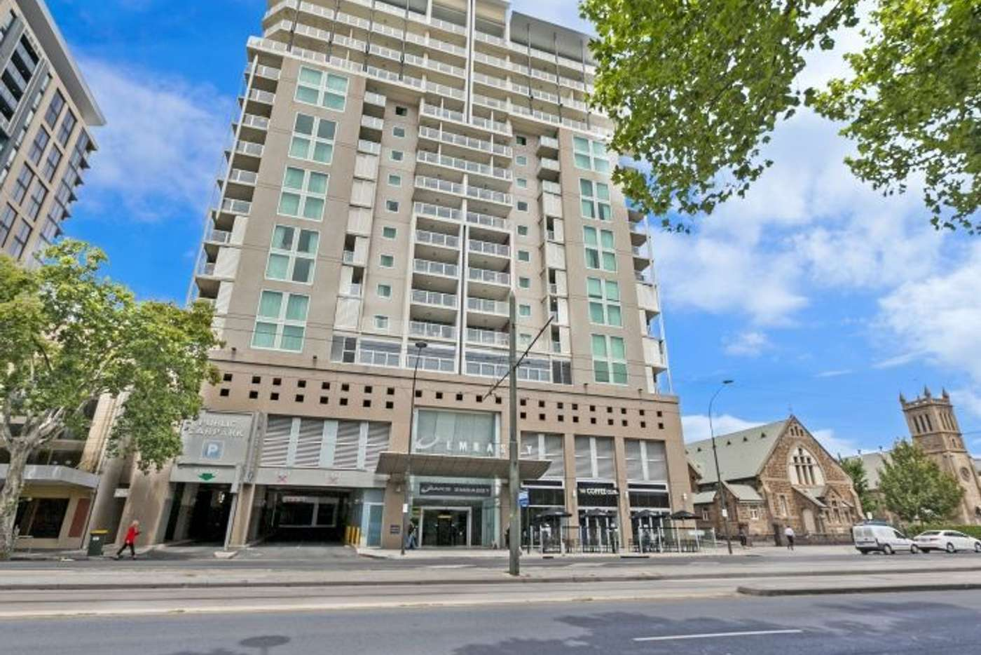 Main view of Homely apartment listing, 608/96 North Terrace, Adelaide SA 5000