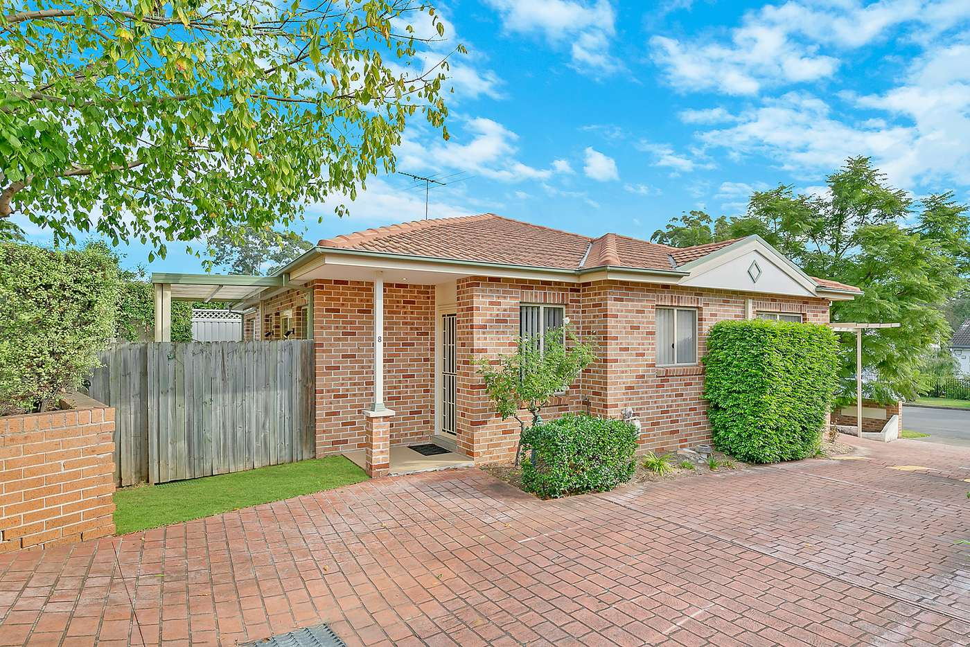 Main view of Homely villa listing, 8/8-12 Wesley Street, Telopea NSW 2117