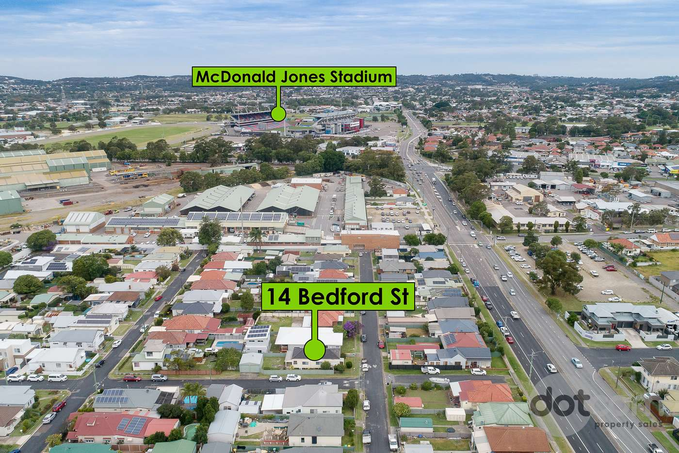 Fifth view of Homely house listing, 14 Bedford Street, Georgetown NSW 2298