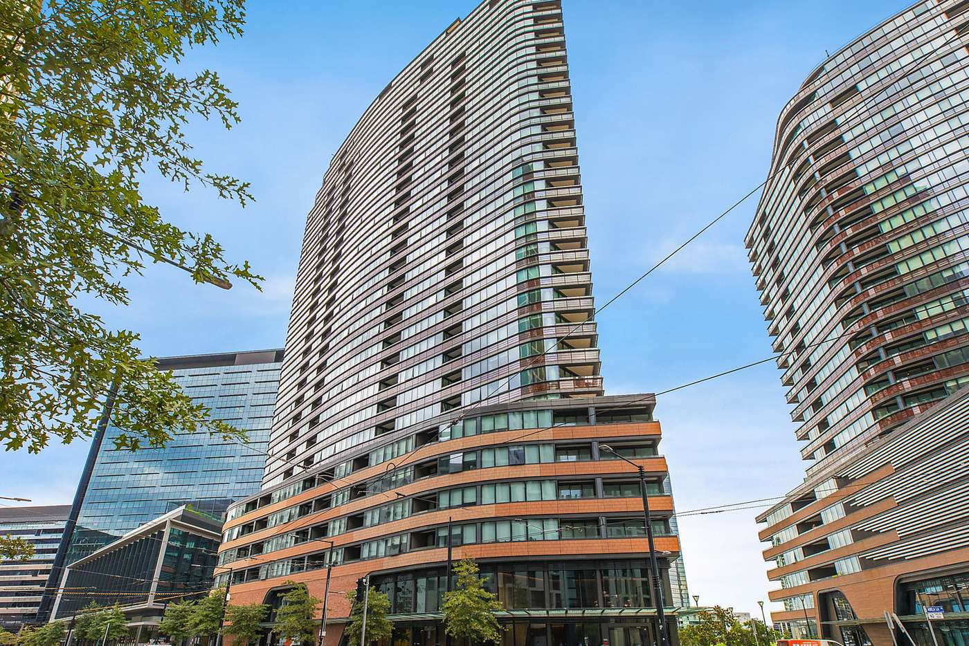 Main view of Homely apartment listing, 2301N/883 Collins Street, Docklands VIC 3008