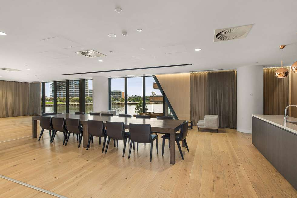 Second view of Homely apartment listing, 2301N/883 Collins Street, Docklands VIC 3008