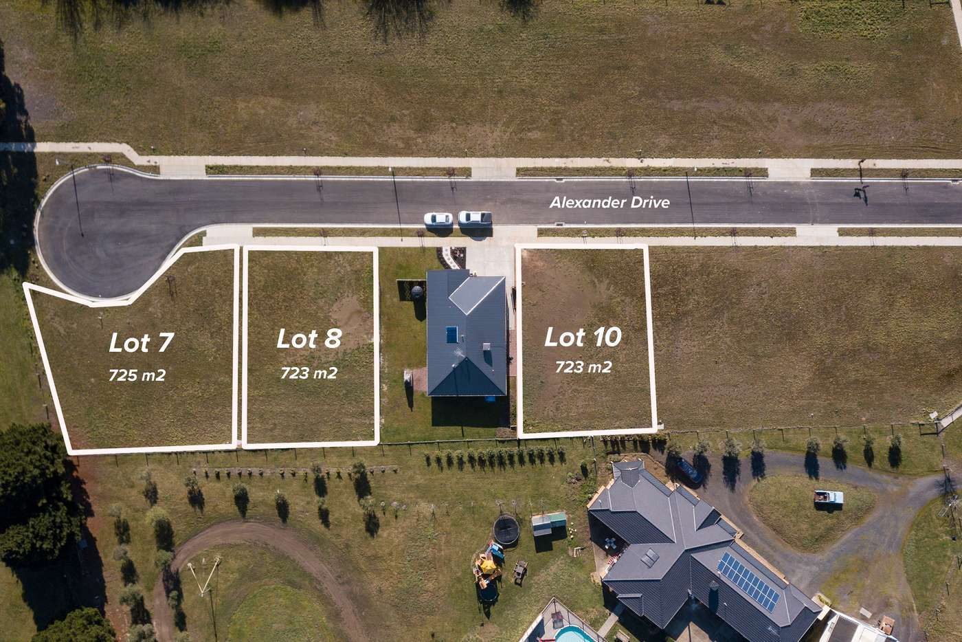 Main view of Homely residentialLand listing, LOT 8 Alexander Drive, Ballan VIC 3342