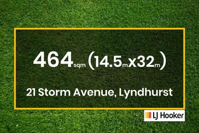 21 Storm Avenue, Lyndhurst VIC 3975