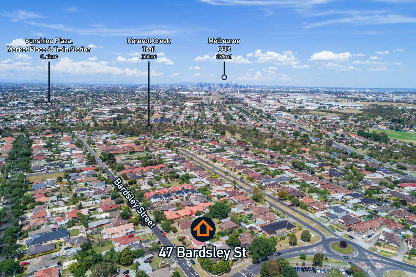 Sixth view of Homely house listing, 47 Bardsley Street, Sunshine West VIC 3020