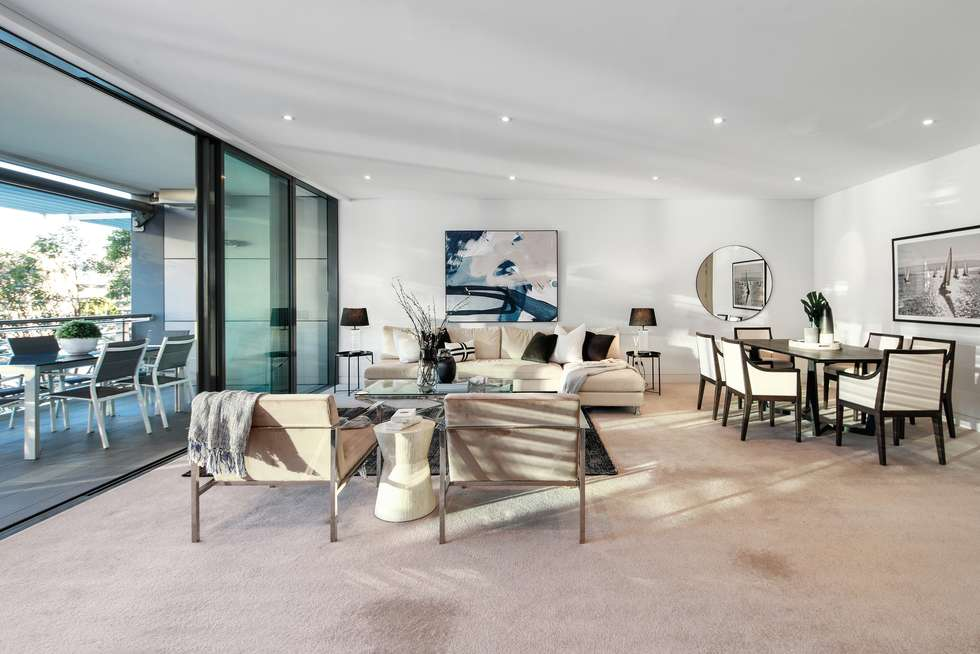 Second view of Homely apartment listing, 206/8-14 Wharf Crescent, Pyrmont NSW 2009