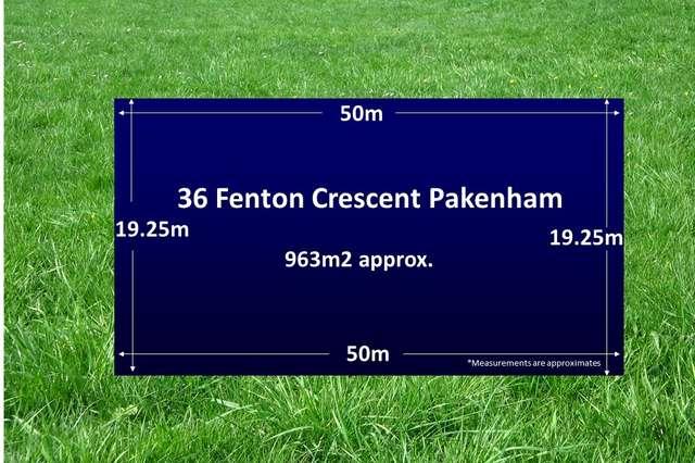 36 Fenton Crescent, Pakenham VIC 3810