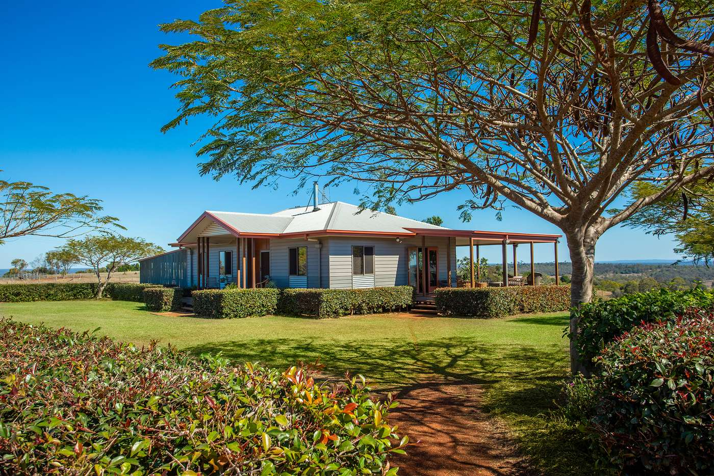 Main view of Homely acreageSemiRural listing, 42 Back Road, Proston QLD 4613