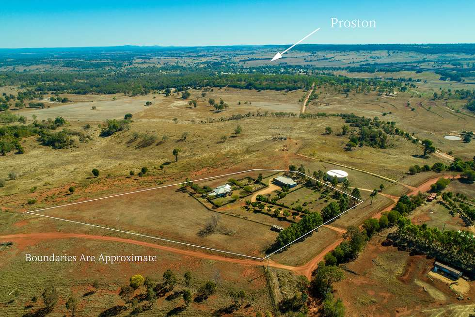 Second view of Homely acreageSemiRural listing, 42 Back Road, Proston QLD 4613