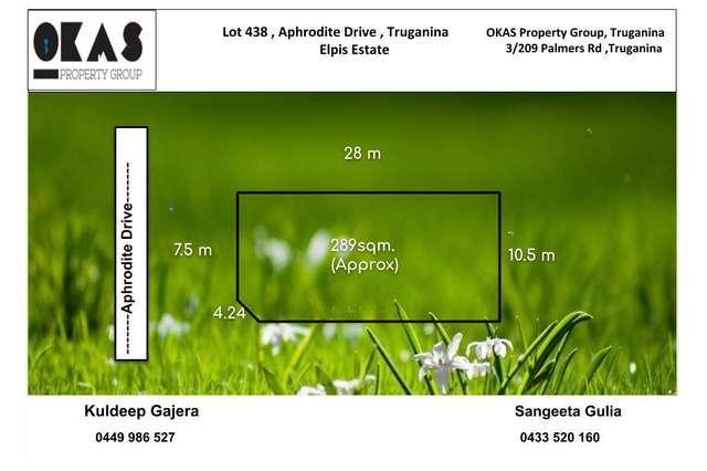LOT 438 Aphrodite Drive, Truganina VIC 3029