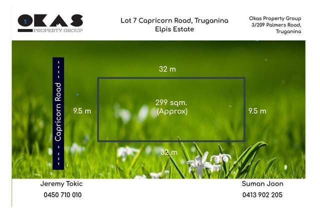 LOT 7 Capricorn Road, Truganina VIC 3029