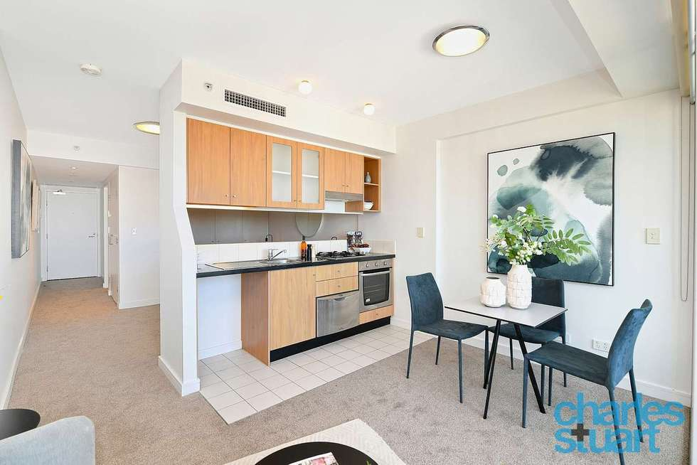 Second view of Homely studio listing, 1704/79-81 Berry Street, North Sydney NSW 2060
