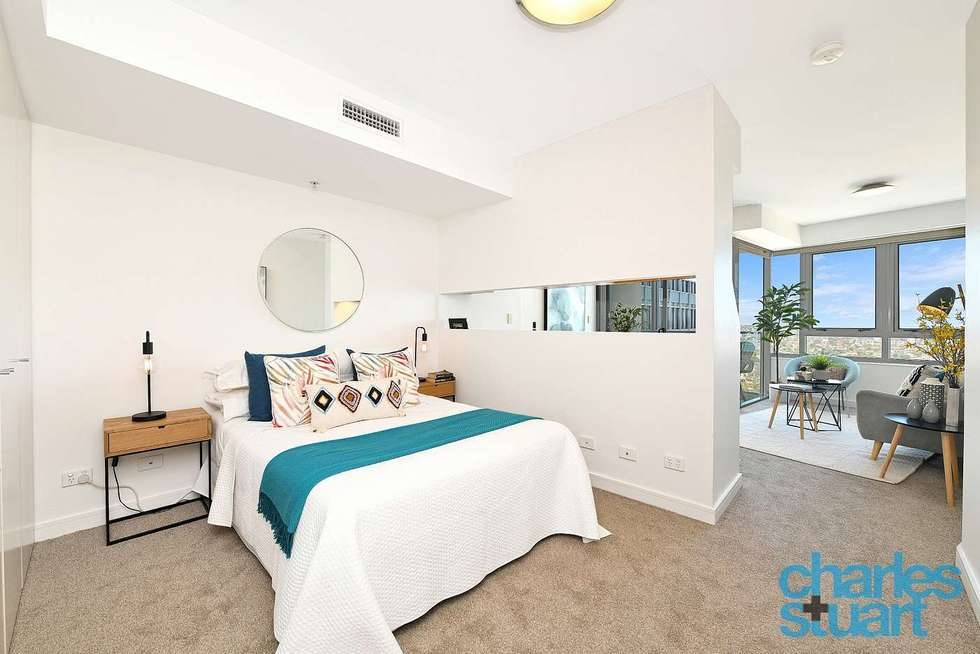 Third view of Homely studio listing, 1704/79-81 Berry Street, North Sydney NSW 2060
