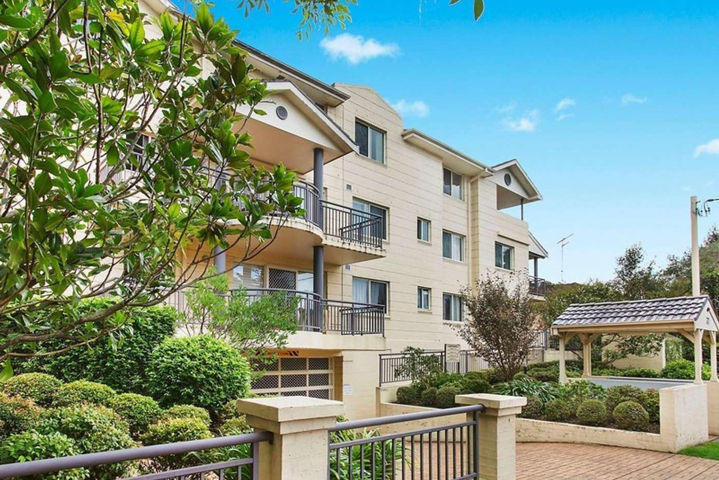 Main view of Homely unit listing, 27/37 Sherbrook Road, Hornsby NSW 2077
