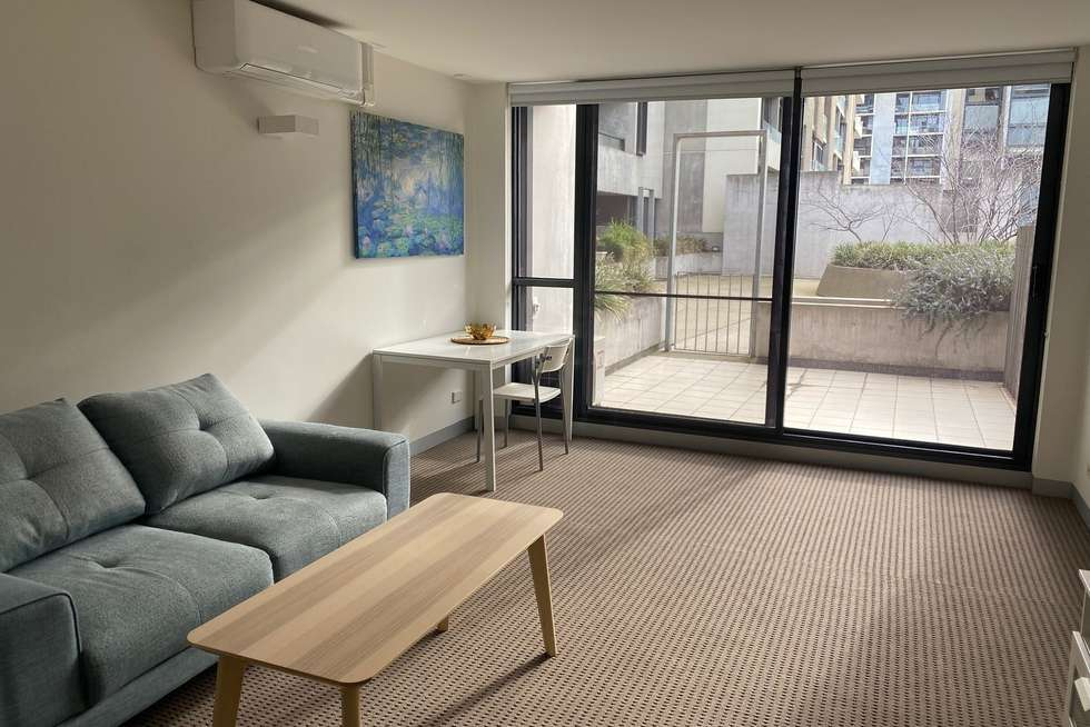 Third view of Homely apartment listing, 422D/604 Swanston Street, Carlton VIC 3053