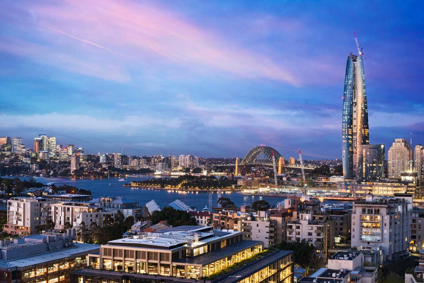 Main view of Homely apartment listing, 1603/8 Distillery Drive, Pyrmont NSW 2009