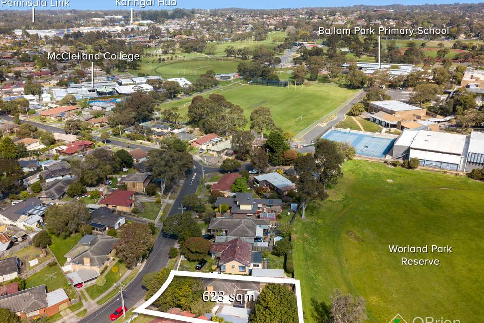 Second view of Homely house listing, 6 Alexander Crescent, Frankston VIC 3199