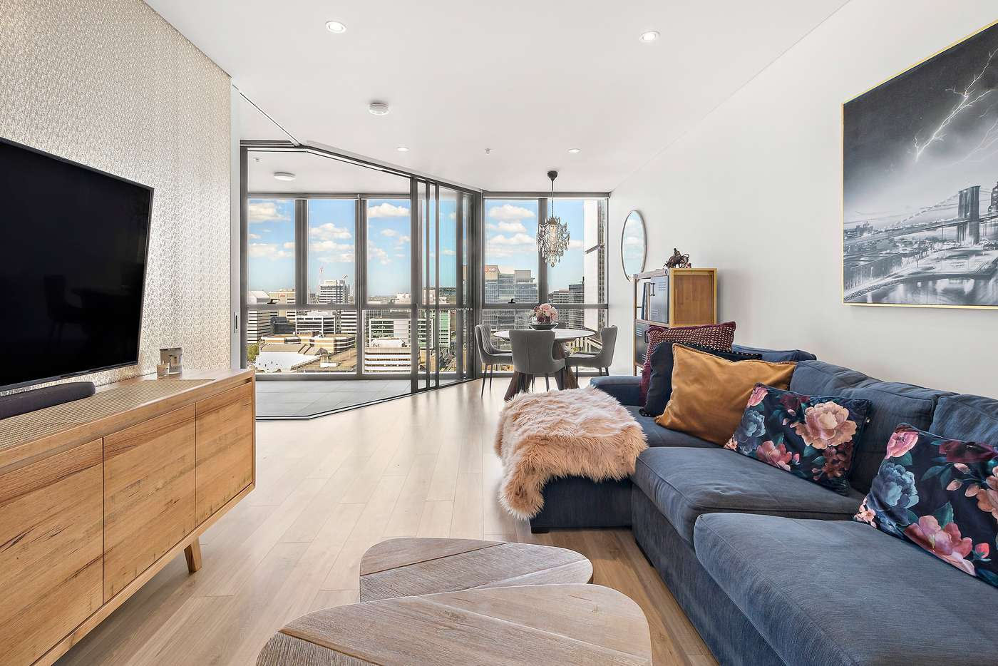 Main view of Homely apartment listing, 1609/45 Macquarie Street, Parramatta NSW 2150