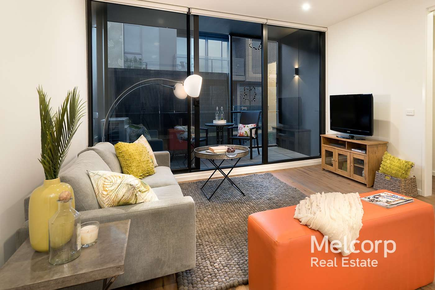 Main view of Homely apartment listing, 207/68 Leveson Street, North Melbourne VIC 3051