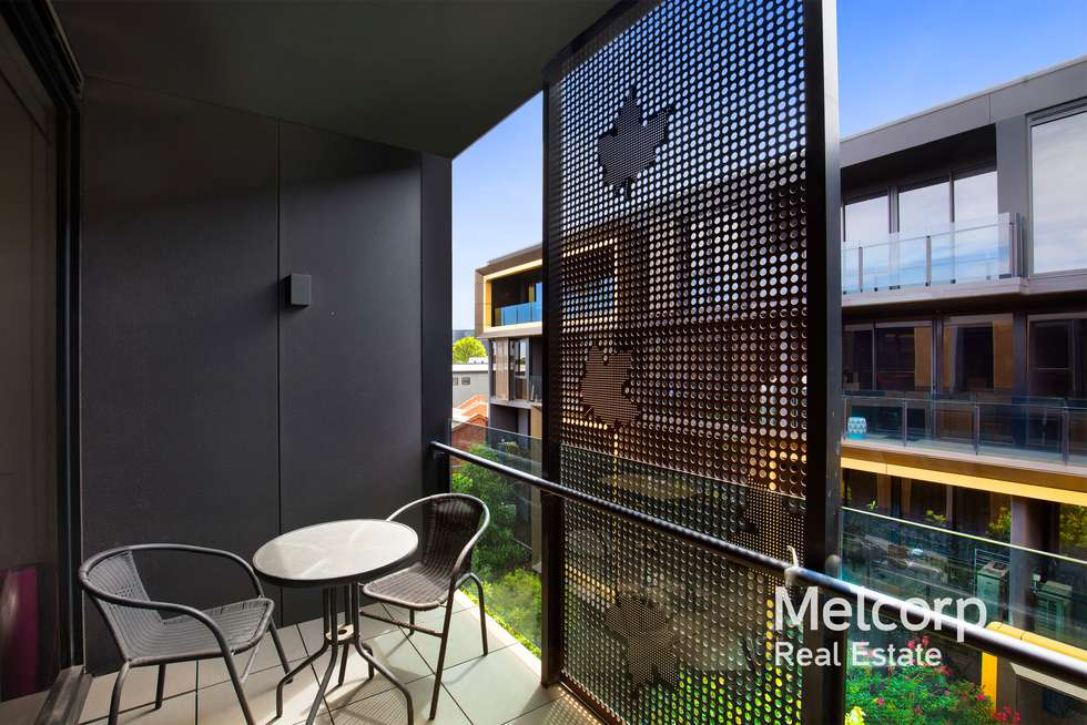 Second view of Homely apartment listing, 207/68 Leveson Street, North Melbourne VIC 3051
