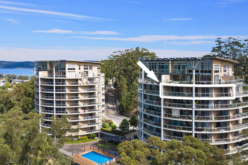 Second view of Homely apartment listing, Level 7/274/80 John Whiteway Drive, Gosford NSW 2250