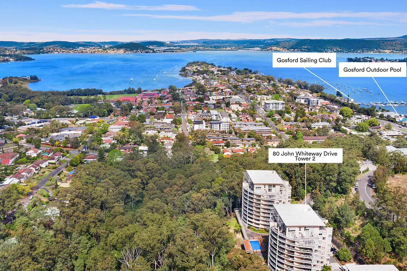 Sixth view of Homely apartment listing, Level 7/274/80 John Whiteway Drive, Gosford NSW 2250