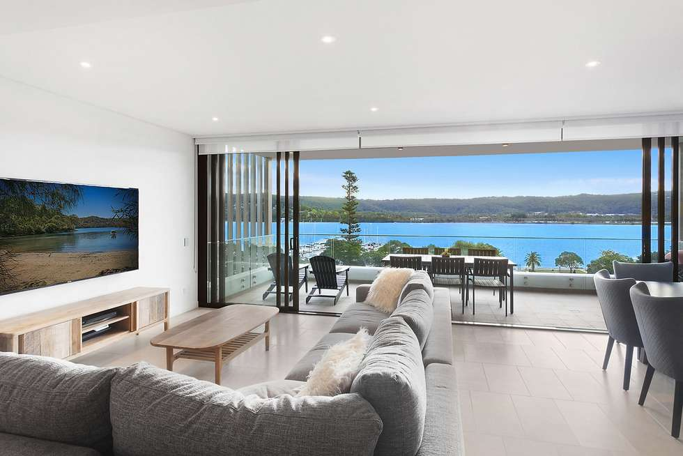 Second view of Homely apartment listing, 402/13 Lynn Avenue, Point Frederick NSW 2250