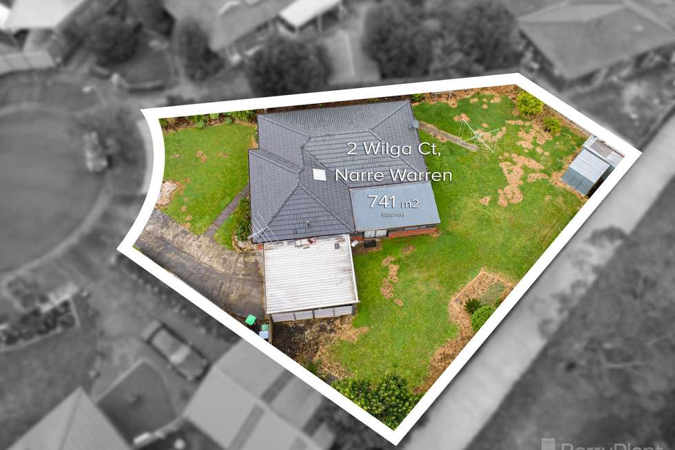 Second view of Homely house listing, 2 Wilga Court, Narre Warren VIC 3805