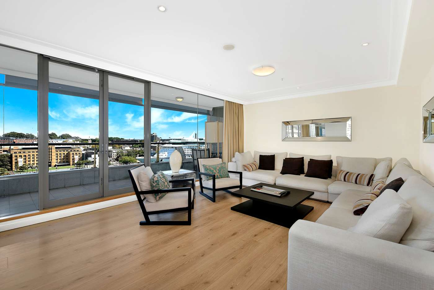 Main view of Homely apartment listing, 1402/61 Macquarie Street, Sydney NSW 2000