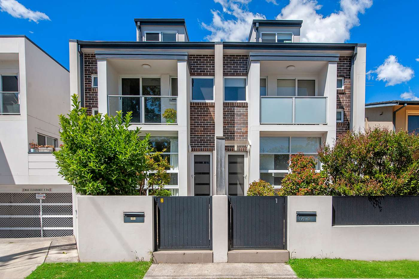 Main view of Homely townhouse listing, 2/1-3 Haldane Street, Asquith NSW 2077