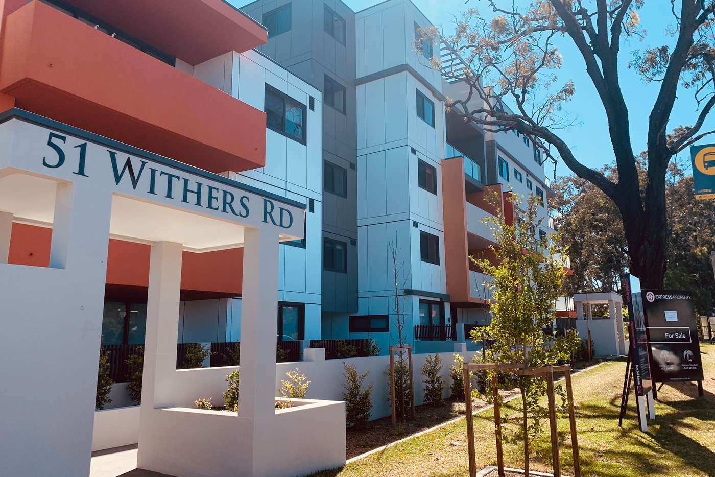 Main view of Homely apartment listing, D102/19 Withers Road, Kellyville NSW 2155