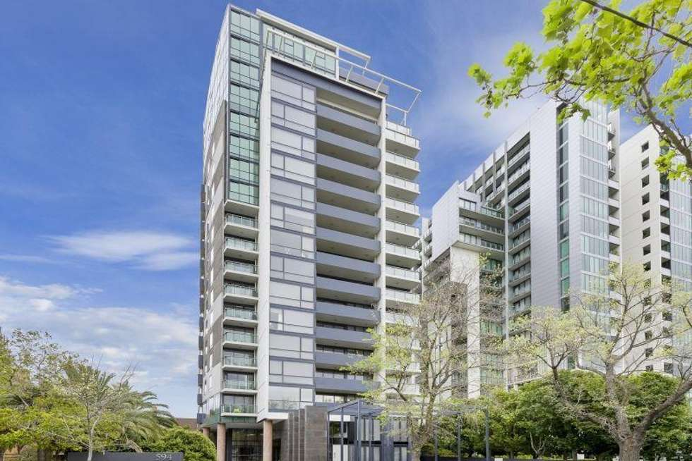 Third view of Homely apartment listing, 1212/594 St Kilda Road, Melbourne VIC 3004