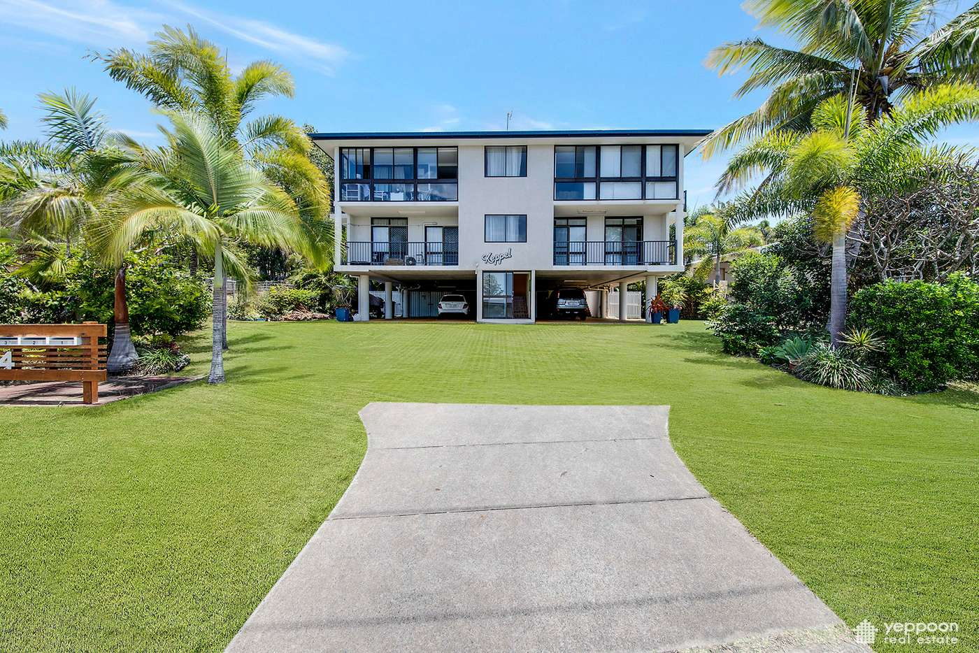 Main view of Homely unit listing, 1/4 Rose Street, Lammermoor QLD 4703