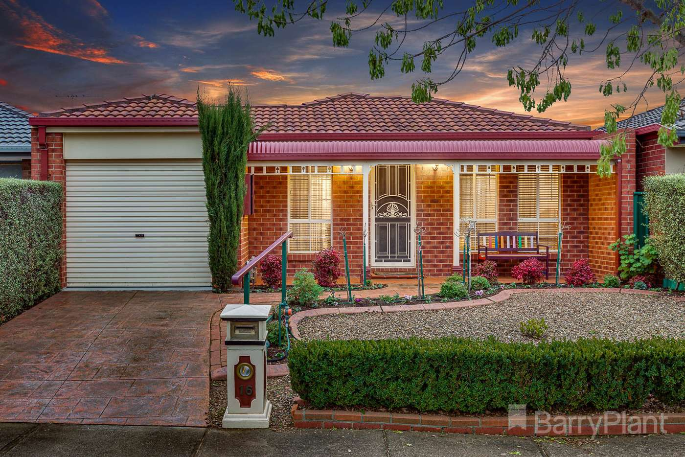 Main view of Homely house listing, 16 Moneghetti Place, Burnside VIC 3023