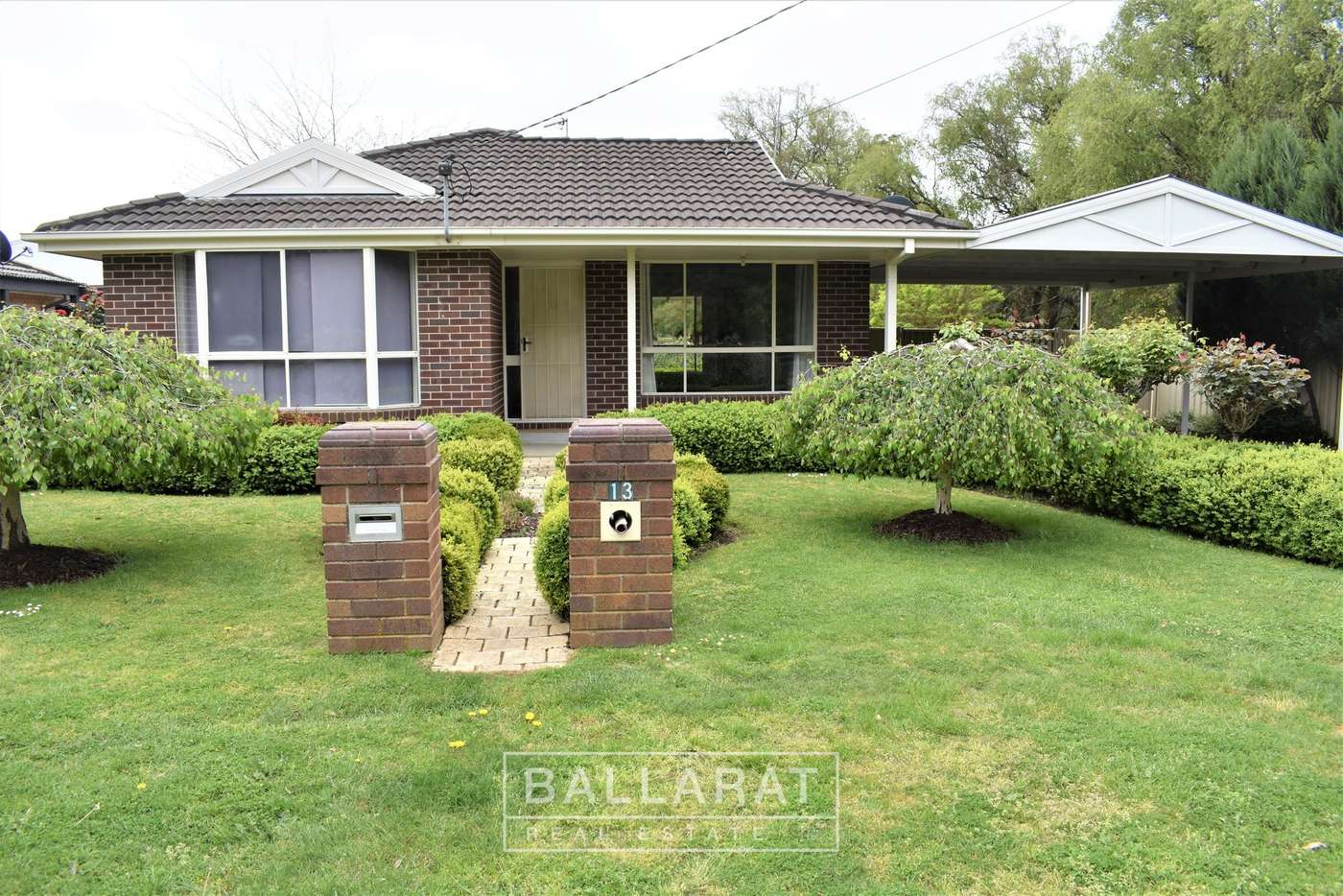 Main view of Homely house listing, 13 Olympic Avenue, Mount Clear VIC 3350