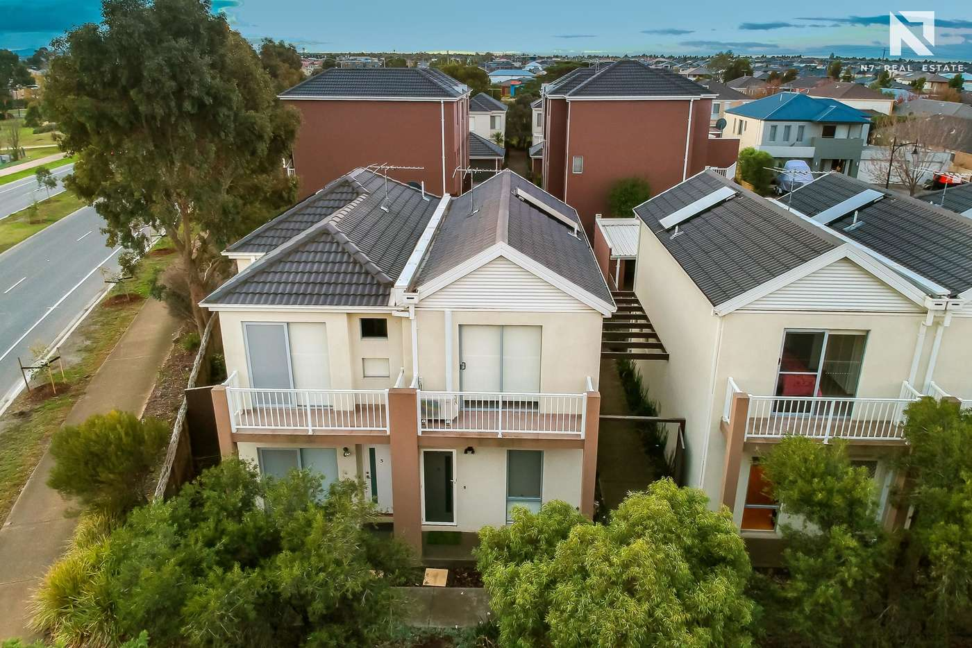 Main view of Homely townhouse listing, 4 Kai Close, Caroline Springs VIC 3023