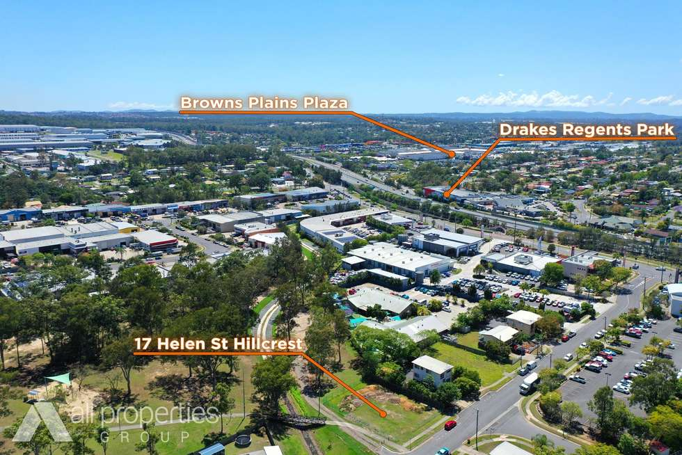 Third view of Homely residentialLand listing, 17 Helen Street, Hillcrest QLD 4118