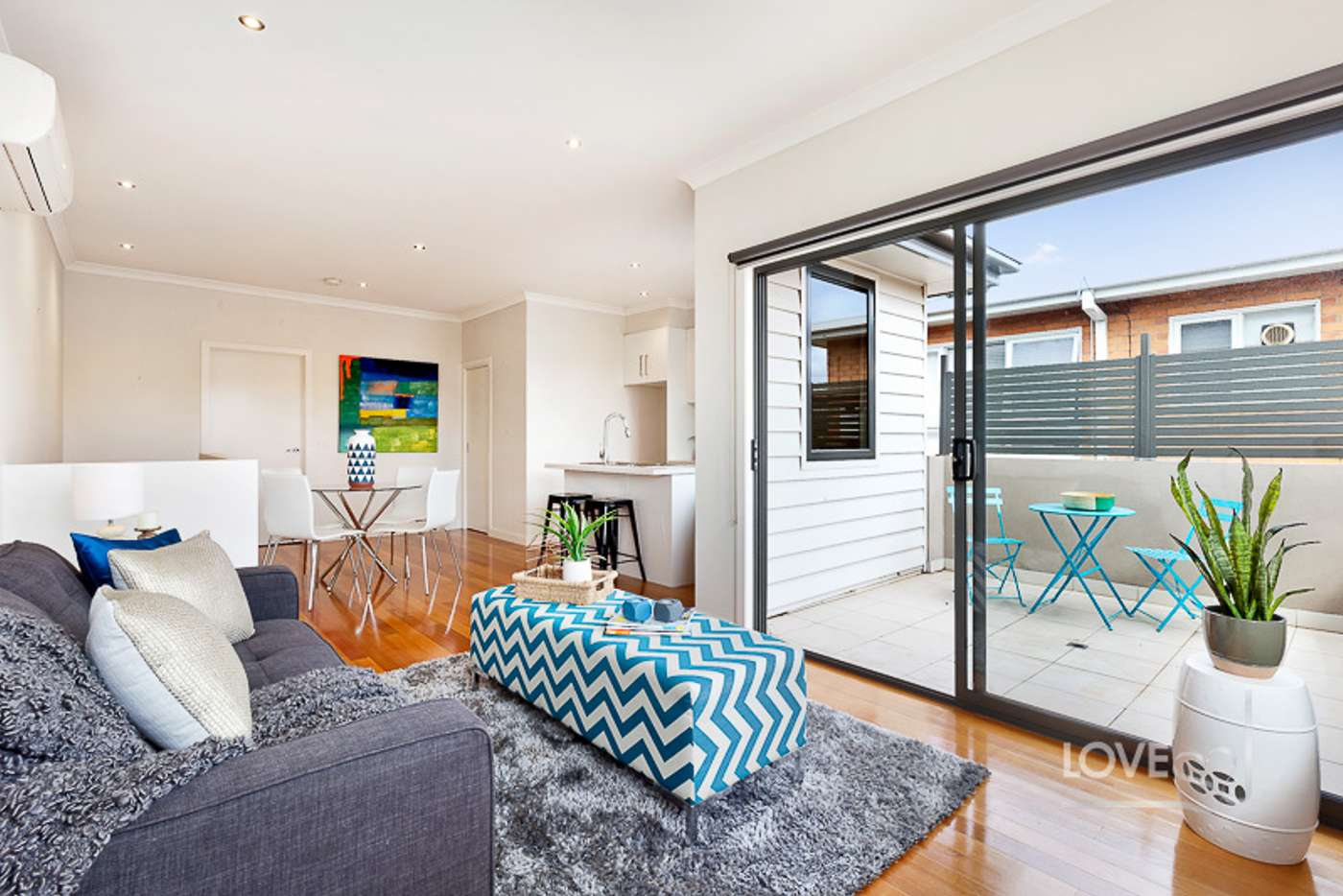 Main view of Homely townhouse listing, 166 Flinders Street, Thornbury VIC 3071