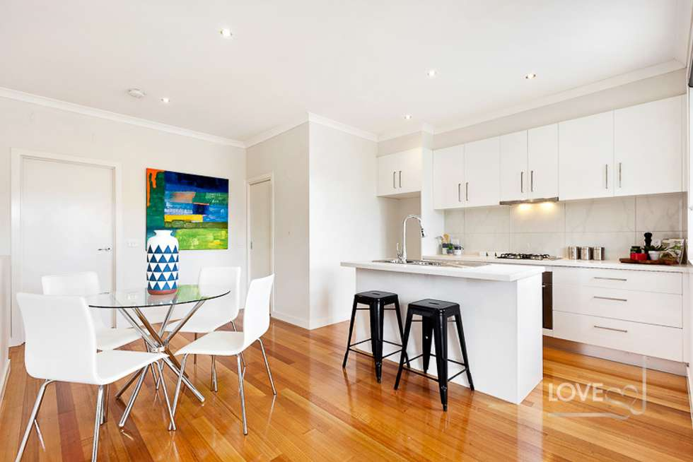 Third view of Homely townhouse listing, 166 Flinders Street, Thornbury VIC 3071