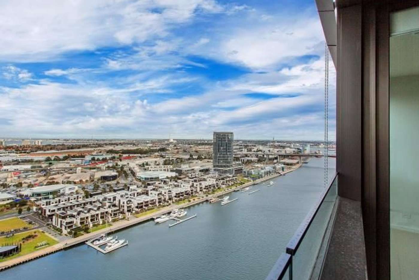 Main view of Homely apartment listing, 2704N/889 Collins Street, Docklands VIC 3008
