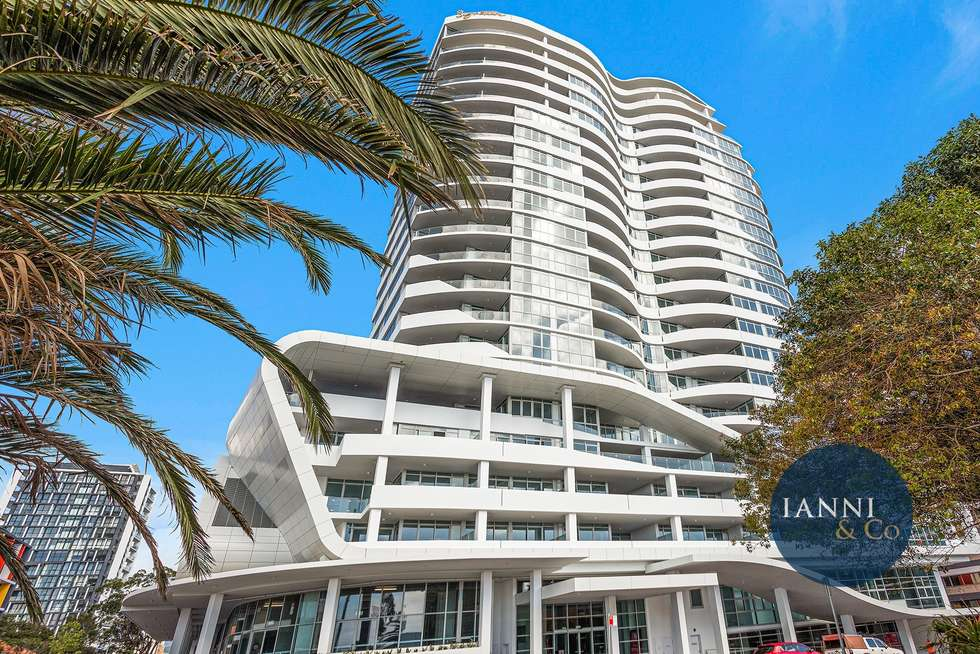Second view of Homely apartment listing, 1802/10-18 Regent Street, Wollongong NSW 2500