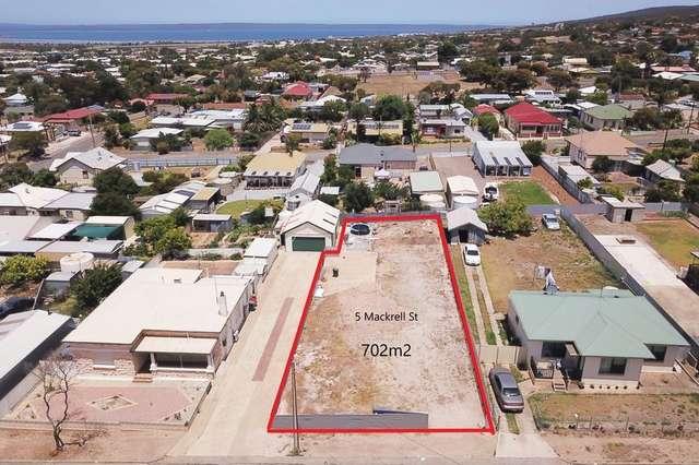 5 Mackrell Street, Port Lincoln SA 5606