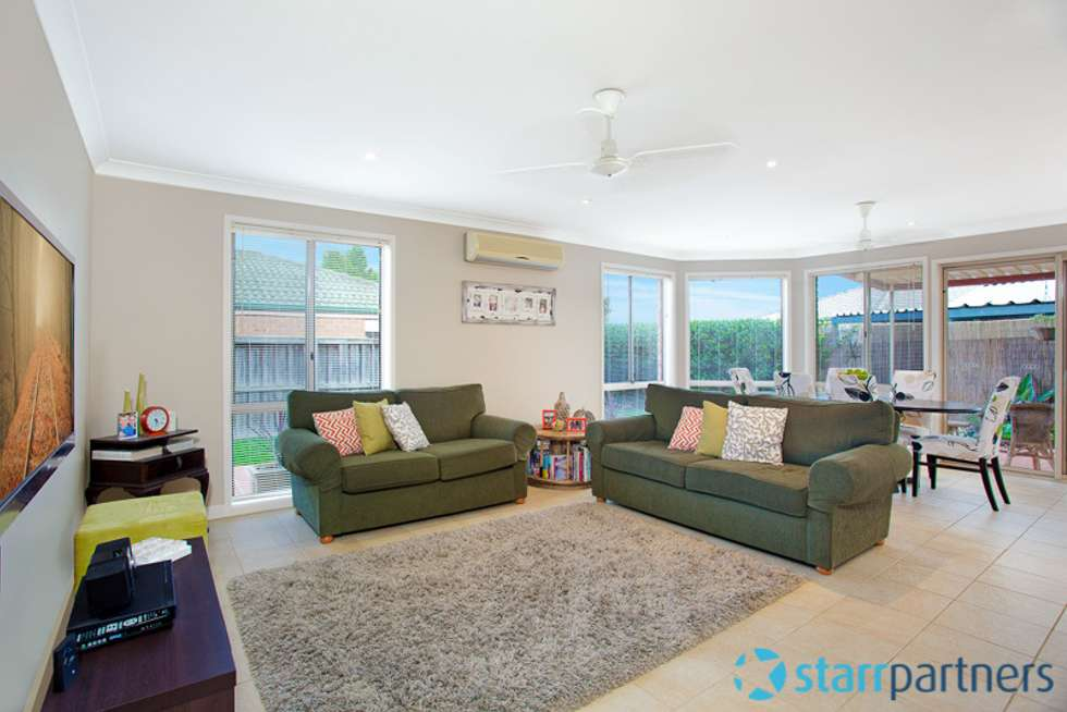 Second view of Homely house listing, 90 Phoenix Avenue, Stanhope Gardens NSW 2768