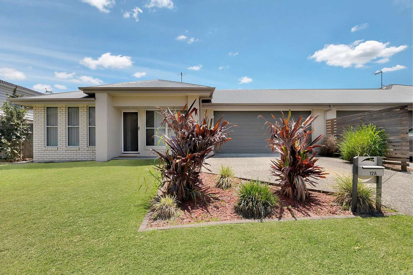 Main view of Homely semiDetached listing, 12a Weston Court, Bellbird Park QLD 4300