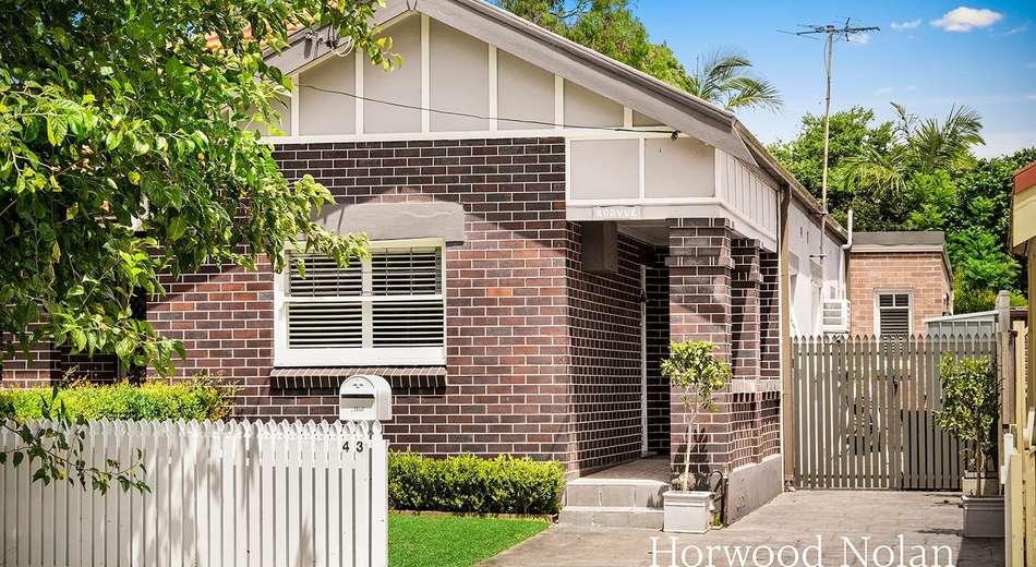 43 Arthur Street, Rodd Point NSW 2046