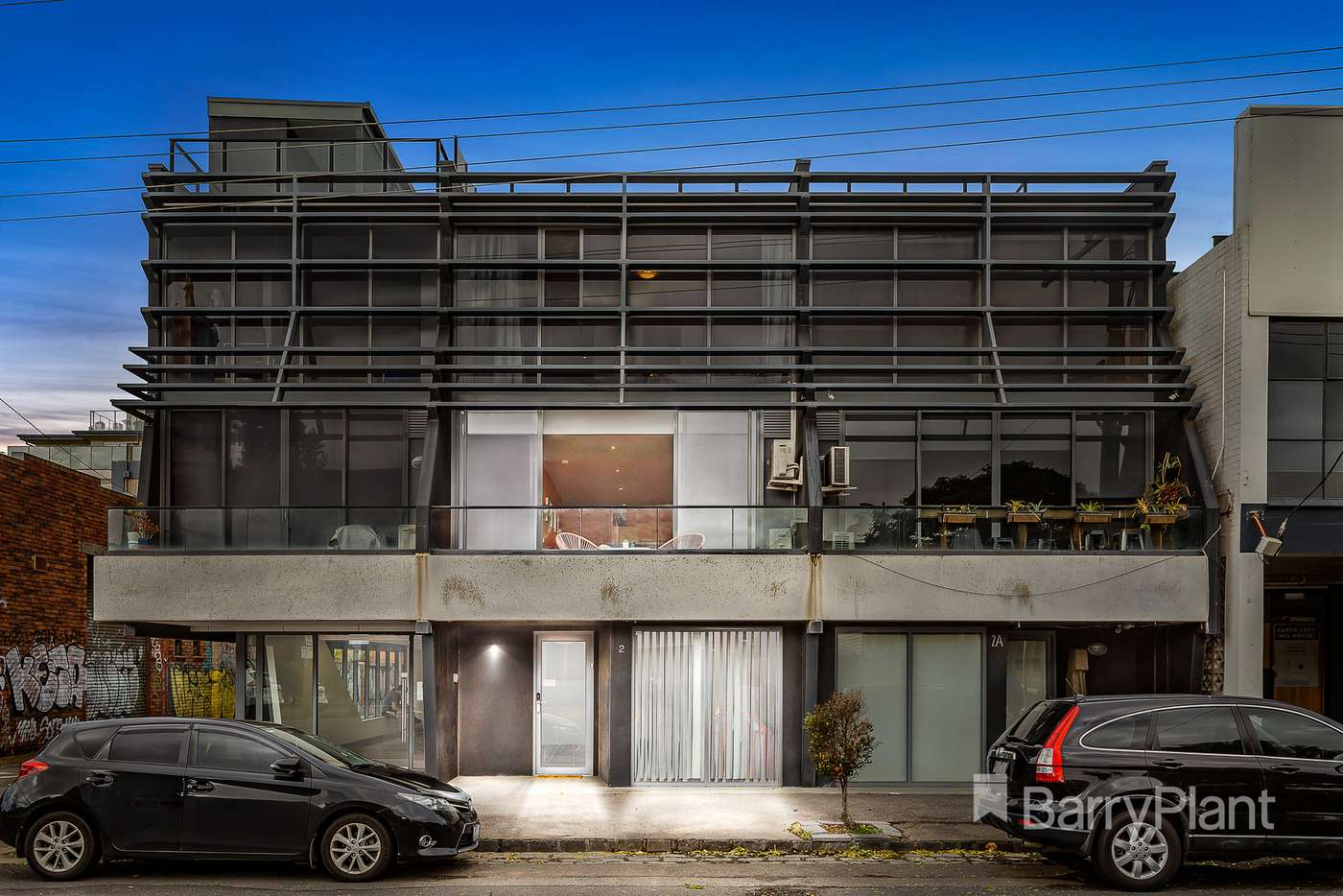 Main view of Homely townhouse listing, 2 Barkly Street, Brunswick East VIC 3057