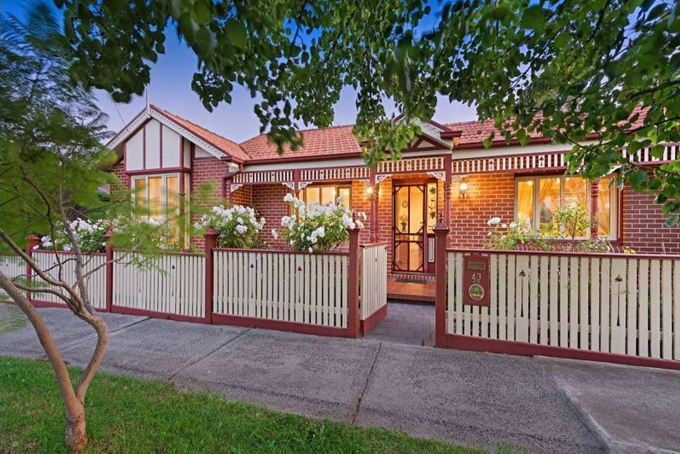 Main view of Homely house listing, 43 Wallace Street, Preston VIC 3072