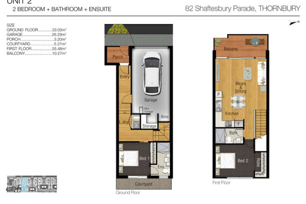 Fifth view of Homely townhouse listing, 2/82 Shaftesbury Parade, Thornbury VIC 3071