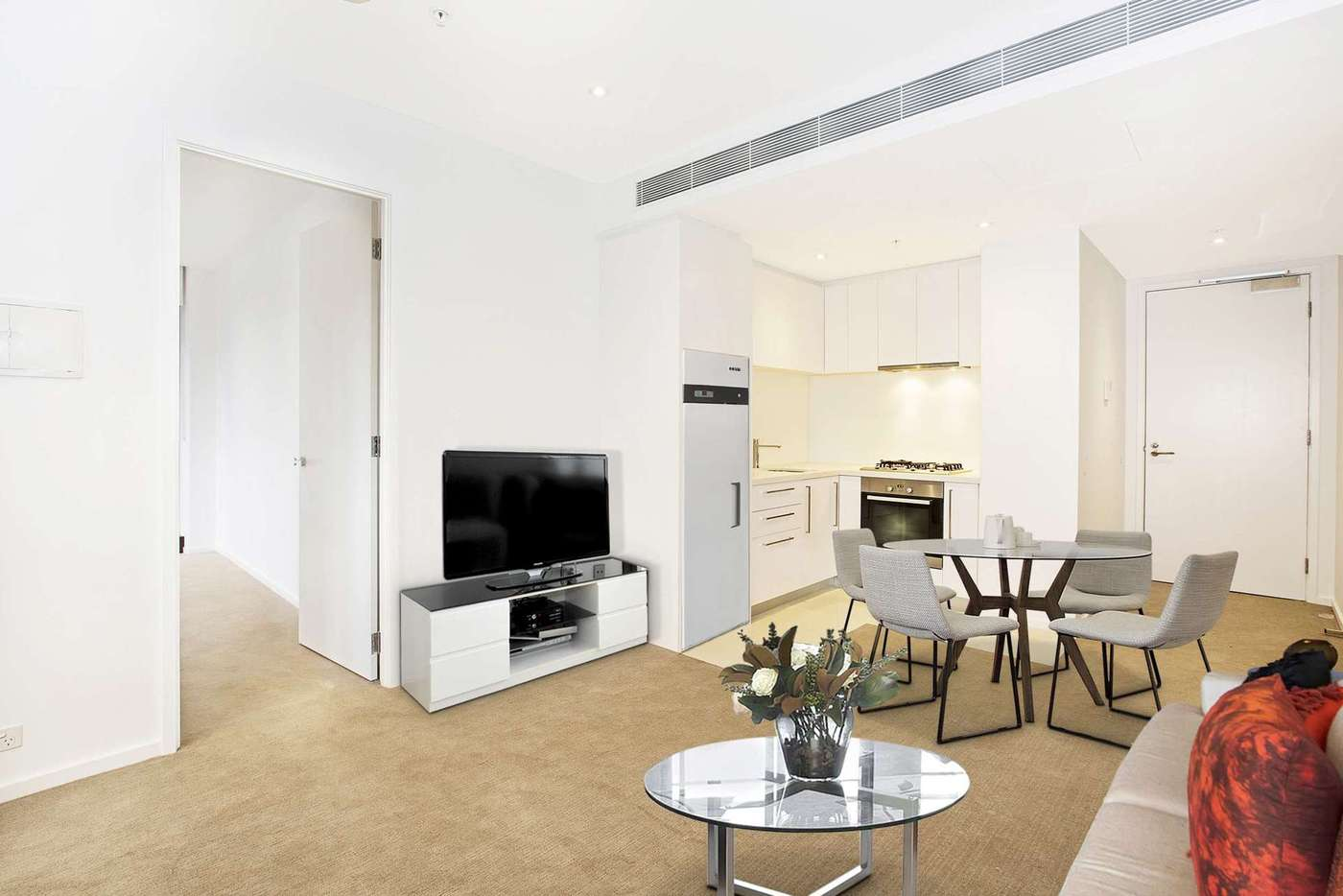 Main view of Homely apartment listing, 3414/9 Power Street, Southbank VIC 3006